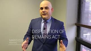 DISPOSITION OF REMAINS ACT