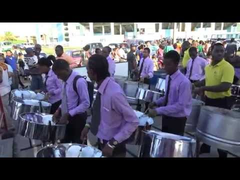 Guyana folk songs medley -NATIONAL STEEL ORCHESTRA