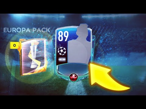 I GOT 89+ OVR - INSANE EUROPE LEAGUE PACK OPENING IN FIFA MOBILE 20 - CHAMPIONS LEAGUE
