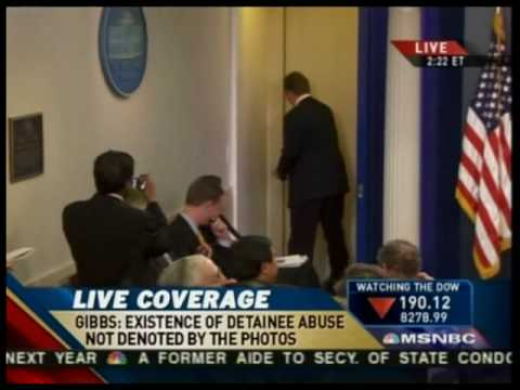 3 Phones Ring During WH Presser: Gibbs Seizes One; Two Reporters Answer Their Calls