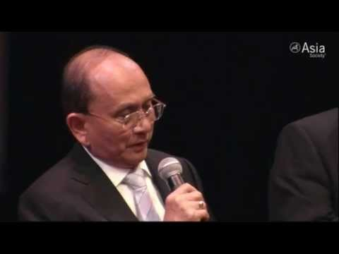 Myanmar President U Thein Sein's Speech at Q&A session by Asia Society