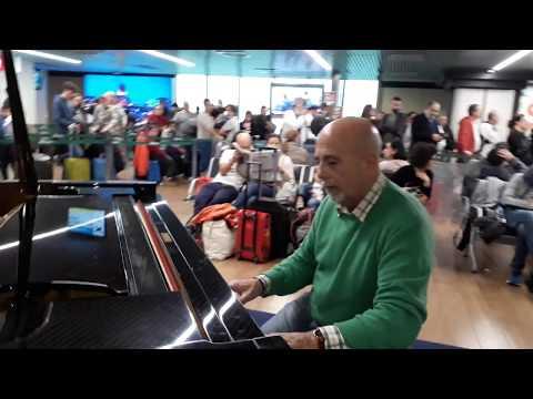 Improvvisando nell&39;Aeroporto di Fiumicino
