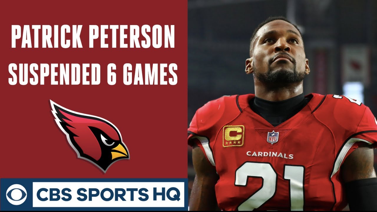 Patrick Peterson suspended six games for violating NFL's performance-enhancing drug policy