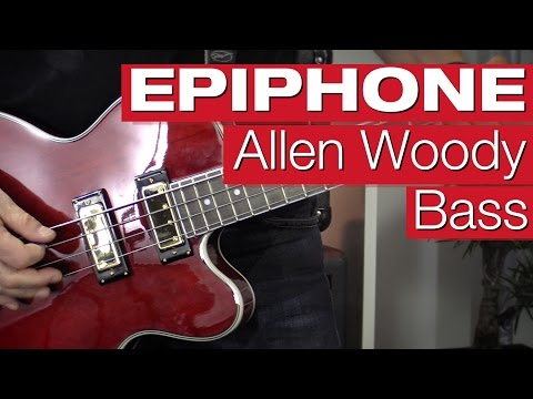 Epiphone Allen Woody Rumble Kat Bass WR E-Bass-Review von session
