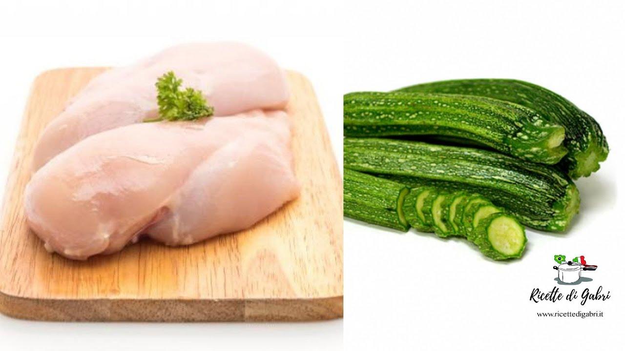 POLLO E ZUCCHINE AL FORNO Ricetta deliziosa e semplice! - RICETTE DI GABRI