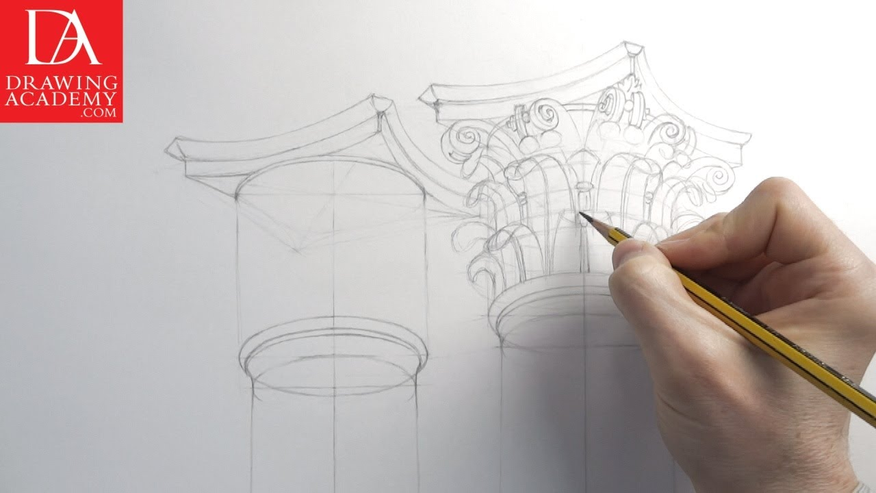 Architecture Drawings Presented By Drawing Academy Com Youtube