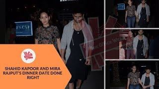 Shahid Kapoor And Mira Rajput's Dinner Date Done Right | BoxOffice Wrap