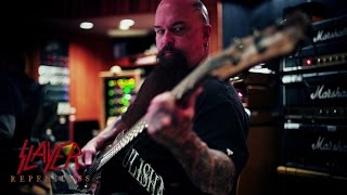SLAYER - Recording Guitars for REPENTLESS (OFFICIAL INTERVIEW)