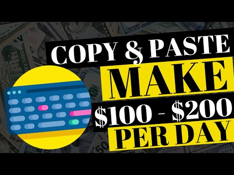 EARN $100 - $300 A DAY WITH COPY AND PASTE PROGRAM (NOT SHOWN ANYWHERE ELSE ONLINE)