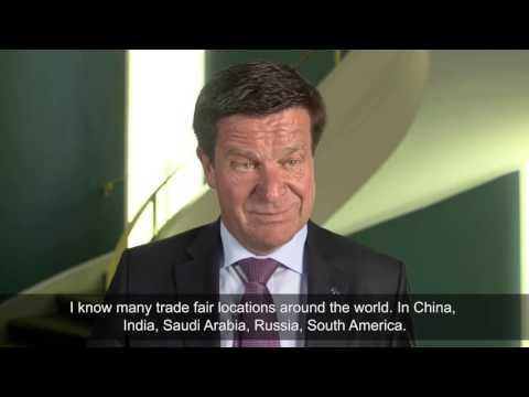 Ulrich Reifenhäuser, Reifenhäuser Maschinenfabrik, about the role of trade fairs