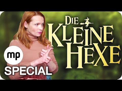 Hexenverwandlung mit Karoline Herfurth 👧 🎆🧙Die Kleine Hexe  2018