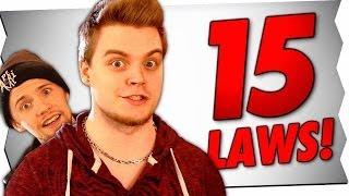 15 UNGLAUBLICHE GESETZE! (feat. iBlali)