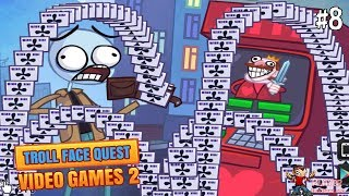 Troll Face Quest Video Games 2 - ATM Level 8 Walkthrough Gameplay
