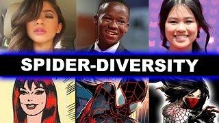 Spider-Man Homecoming - Zendaya as Mary Jane Watson, Miles Morales, Cindy Moon aka Silk