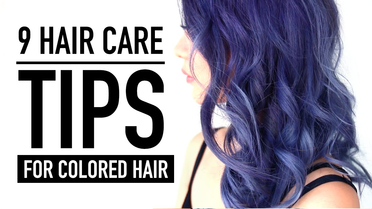 9 Hair Care Tips & Products ♥ New Color REVEAL! ♥ Hair ...