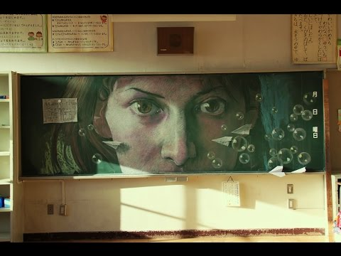 【黒板ジャック】凄すぎる黒板アートまとめ【武蔵野美術大学・ムサビ】