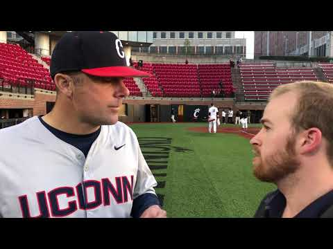UConn Baseball Head Coach Jim Penders Cincinnati April 20, 2018