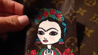 Louis Vuitton Painted Frida