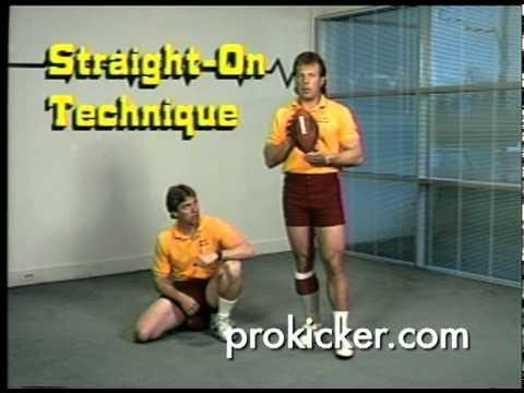 Mark Moseley - NFL MVP - Washington Redskins Straight-on Kicking DVD Sample