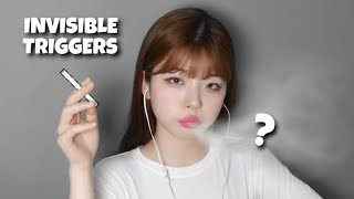 ASMR 1minute Invisible Triggers (VISUAL TINGLE)