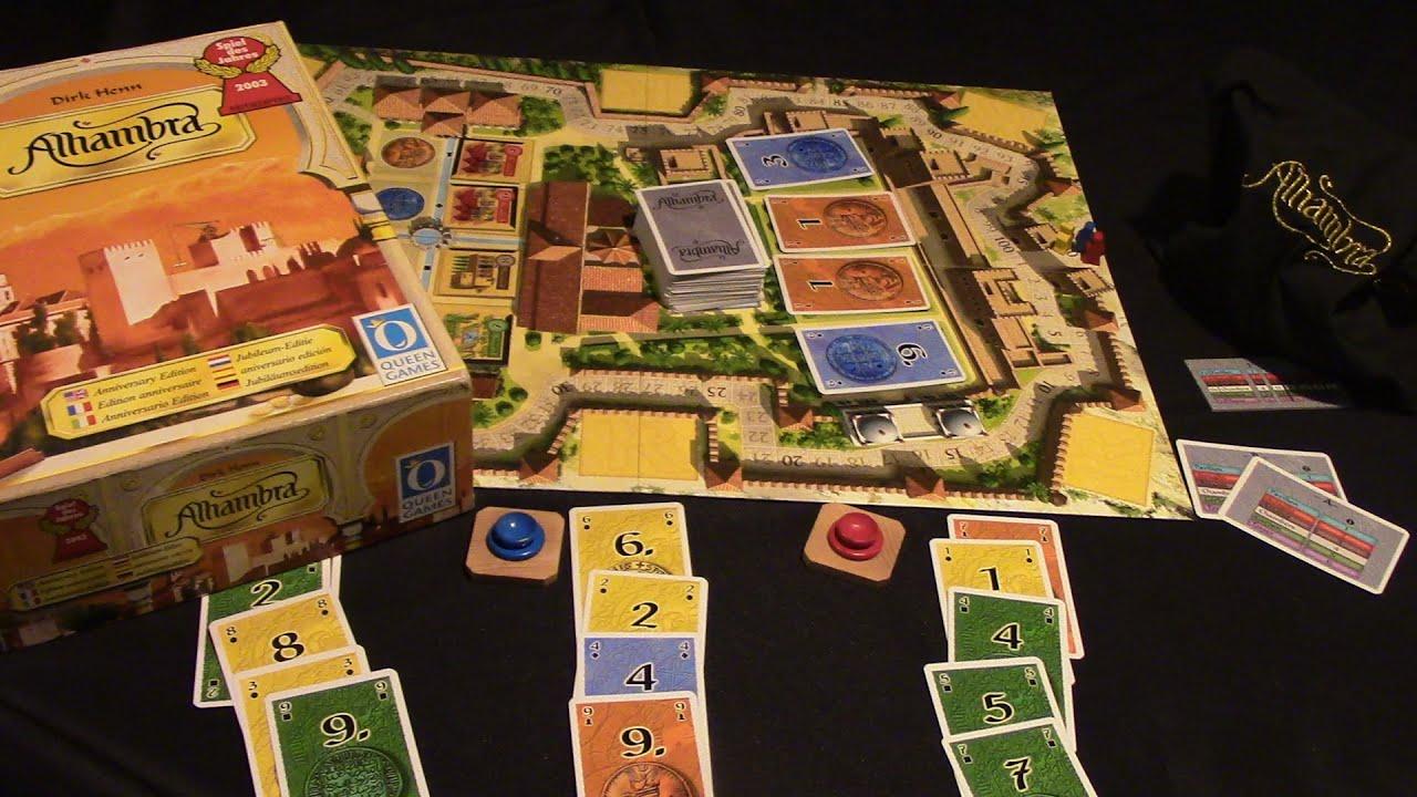 Spiel Alhambra