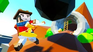 THE ADVENTURES OF ARIZONA JIM! - Tiny Town VR Gameplay - VR HTC Vive