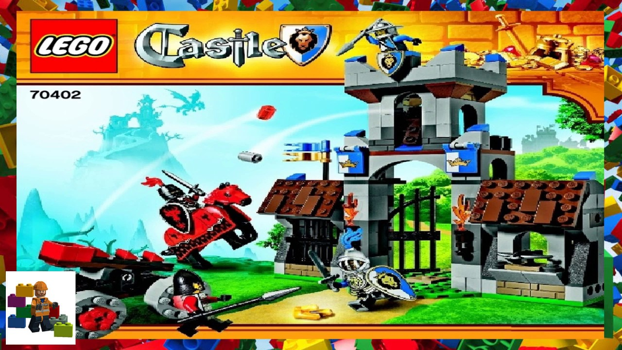 Lego Instructions Castle 70402 The Gatehouse Raid Youtube