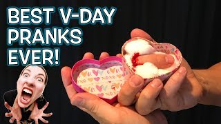 Top 15 Valentines Day Pranks!!