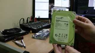 Unboxing:  Seagate Barracuda 1TB 7200RPM 64MB SATA 6Gbps 3.5in Internal Hard Drive - OEM