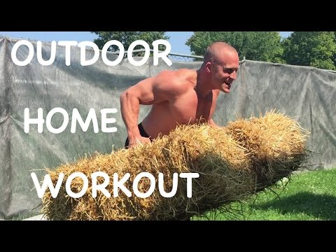 Outdoor Home Workout by Trainer Troy Smith [FUN]