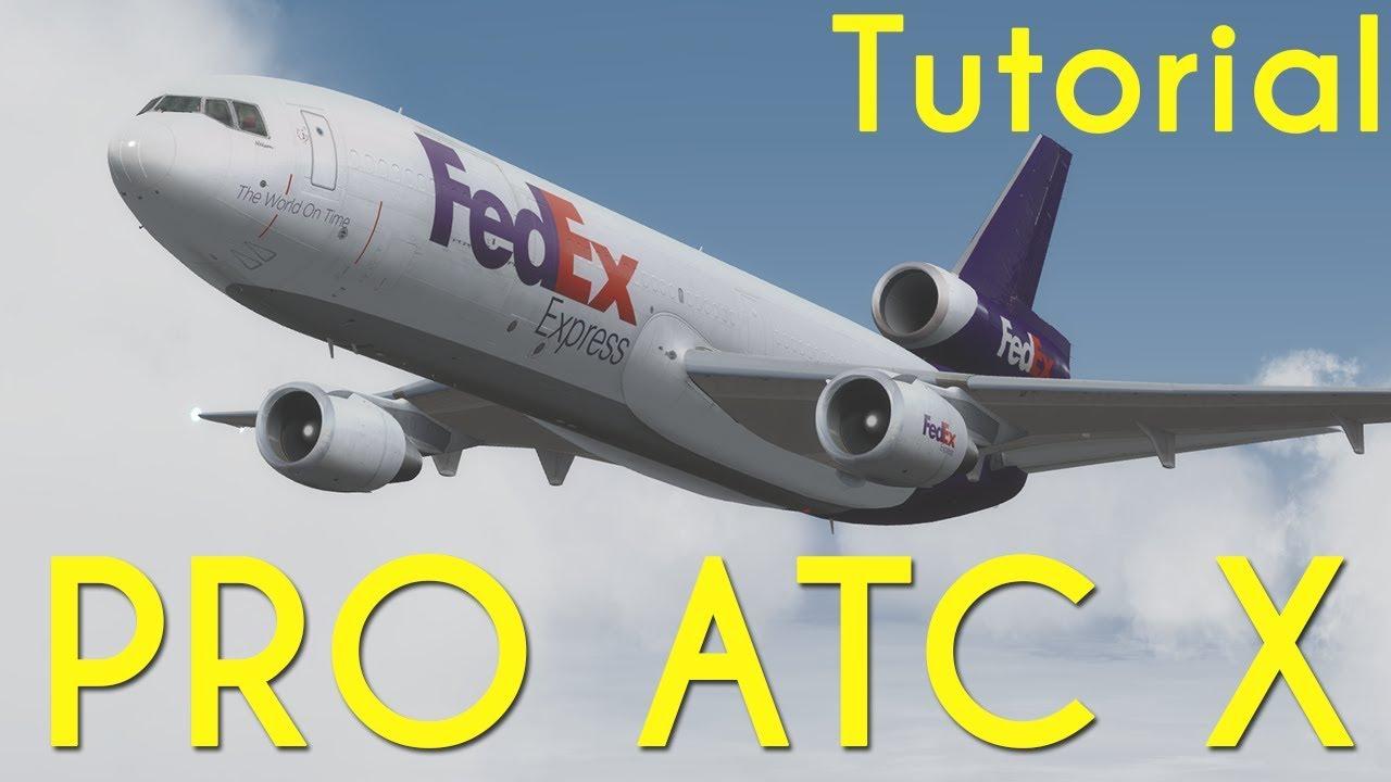 PRO ATC X   EL MEJOR ATC PARA FSX Y PREPAR3D   TUTORIAL EN ESPAÑOL