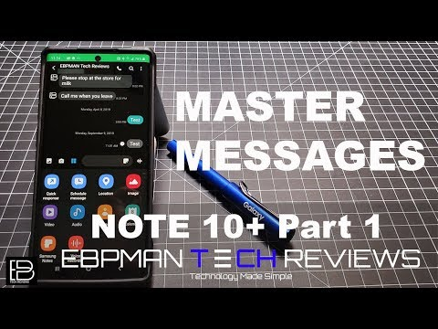Master Text Messages With These Samsung Galaxy Note 10 Plus Tips And Tricks