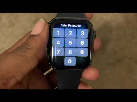 How To Power On/Off Apple Watch