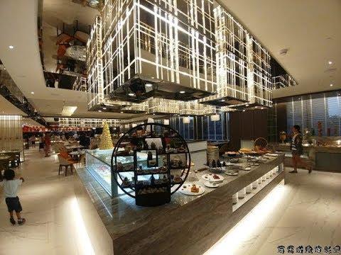 板橋凱撒大飯店-朋派自助餐廳-夢幻甜點區-海霸威食遊影記 - YouTube