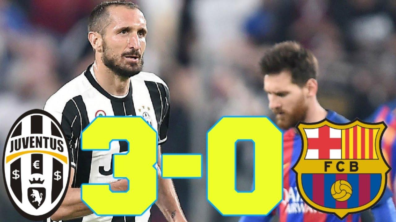 Juventus 3 0 Barcelona El Mejor Analisis De La Victoria De La Juve Ante El Barca En La Champions Youtube