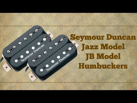 The Seymour Duncan Jazz Model Humbucker (Neck) - JB ModelTrembucker (Bridge)