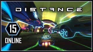 DISTANCE Multiplayer Gameplay - Online PC Racing Game #15