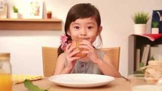 オランジェ TVCM 天使篇 田口食品(15秒)