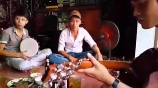 Nhạc Chế Gõ Po và Guitar - Anh Em Phương Xa Hội Tụ Q9 ( 2 Lúa + Chun Yo Hóc )