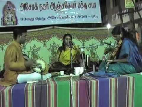 Purva Dhanashree Cotah at the Anjaneyar Koil, Ashok Nagar, Chennai  on 26th Dec 2014.