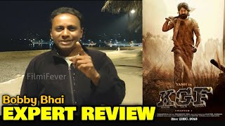 Bobby Bhai EXPERT REVIEW On KGF Movie | Yash, Mouni Roy, Srinidhi Shetty | Chapter 1