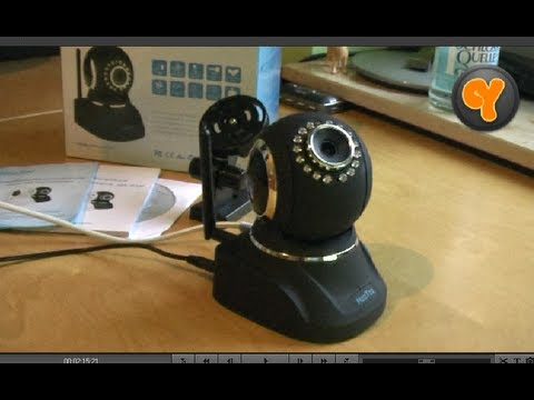 Installation & Funktionen: HooToo HT-IP210HDP Wireless IP-Kamera / WLAN WiFi H.264 P2P Camera