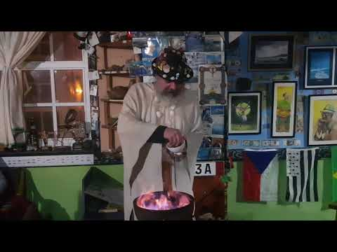 Conjuro queimada en Finisterre