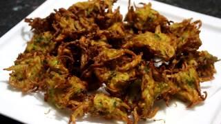 পেঁয়াজের পাকোড়া    Onion Pakora Recipe Bangla    Pakoda Recipe .