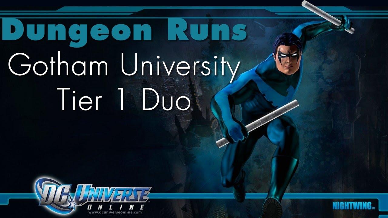 DCUO - Gotham University - T1 Duo