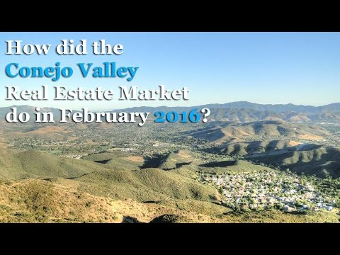 Conejo Valley Real Estate Market Update - March 2016