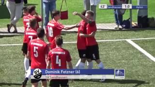 A-Junioren - SV Sandhausen vs. VfR Aalen 1:0 - Dominik Fetzner