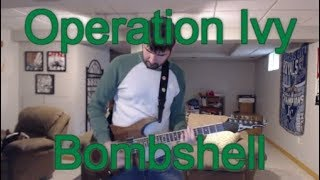 Operation Ivy - Bombshell (Guitar Tab + Cover)