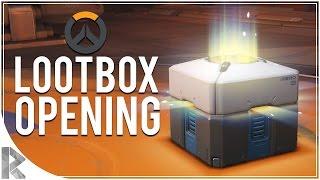 OVERWATCH x50 Lootbox Opening - LEGENDARY Tracer, Genji, McCree, DVA, Reaper Skins!