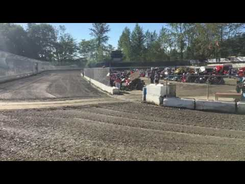 Deming speedway sun rays